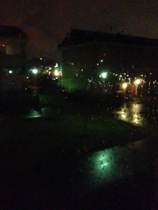 Regnig marskväll