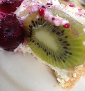 Tårta med kiwi
