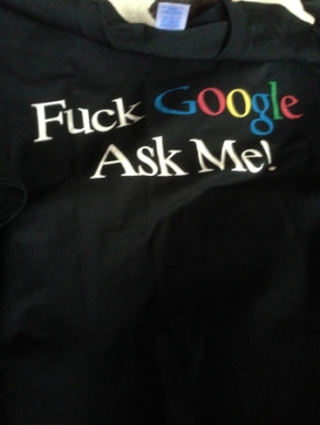 Fuck Google ask me tischa