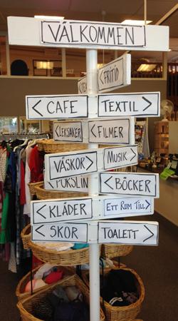 Skylt på Social ekonomi Uppsala