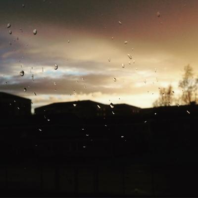 Sol och regn majkväll