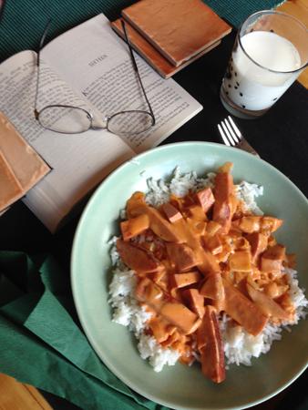 Kycklingkorv Toflanoff med ris