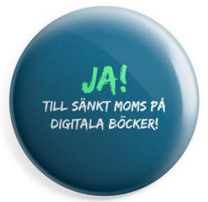 Ja till sänkt moms på digitala böcker