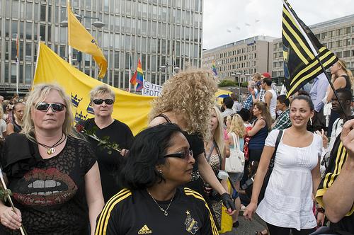 Prideparaden 2011 AIKgänget