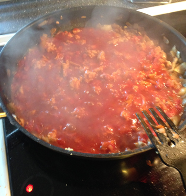 Italiensk pastasås