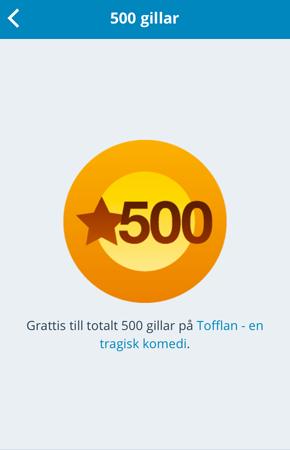 500 gilla
