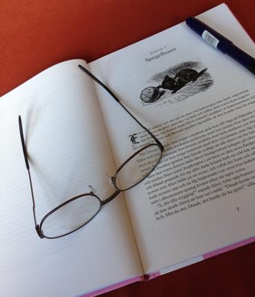 Bok glasögon Kapitel Spegelhuset