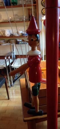 Marionettdocka Pinocchio 150kr