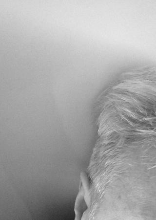 Nyklippt svartvit