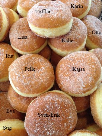 Äppelmunkar med namn