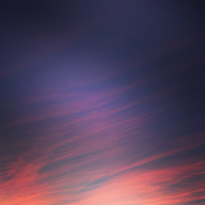 Kvällshimmel i oktober fyrkantig