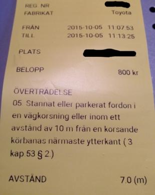 Pböter 800 kr