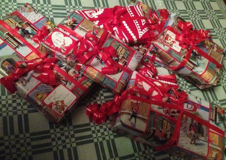 Sju julklappar