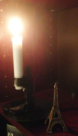 Ljus och eiffeltornet