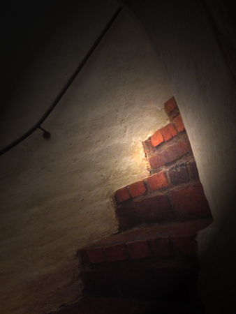 Trappa i Vaksala kyrka