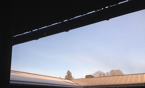 Ljusblå himmel