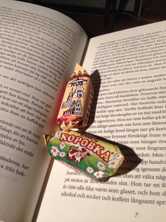 Bok och ryska karameller