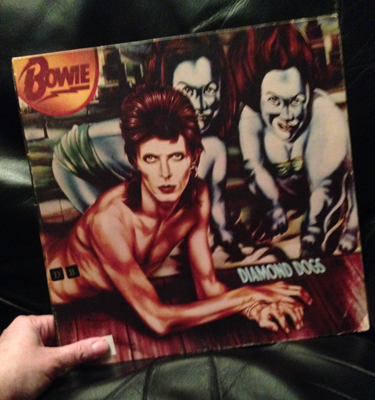 Diamond Dogs David Bowie vinylLP