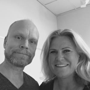 Kristian Luuk och Camilla Kvartoft
