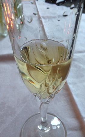 Ett glas champagne