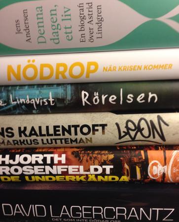 Böcker Bokrean 2016