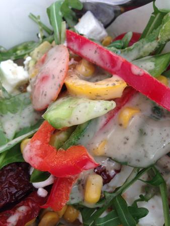 Grönsaker och dressing