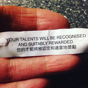 Your talents will be recognised