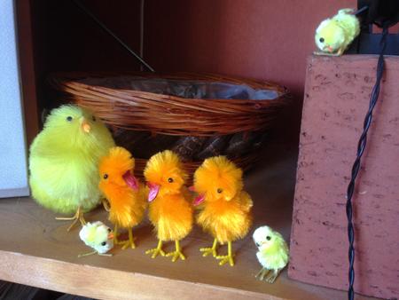 Påskkycklingar