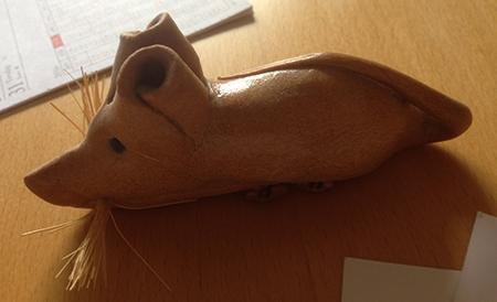 En råtta av bröd