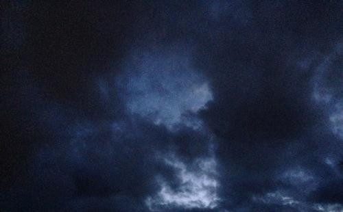 Mörka skyar