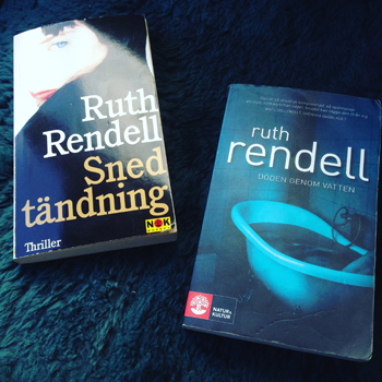 Två Ruth Rendelböcker