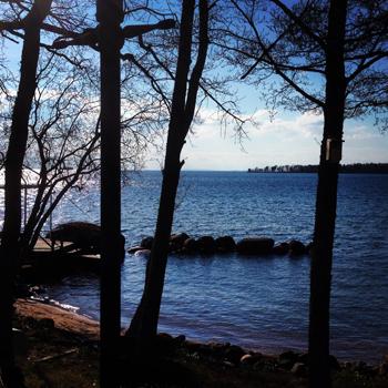 Sjön fyrkantig bild
