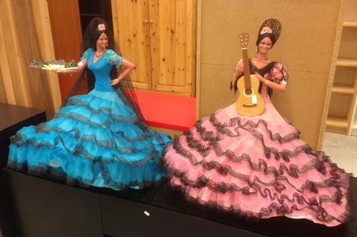 Två spanska danserskor
