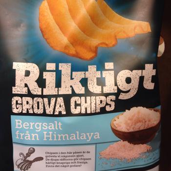 Riktigt grova chips