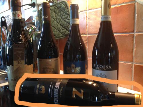 Fem italienska viner Epicuro Zinfandel 2014