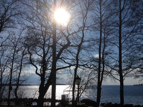 Sjön från andra sidan mamma