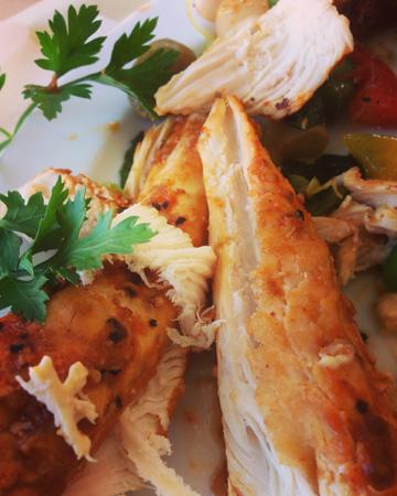 Kyckling och persilja