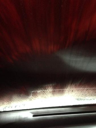 Borstarna i biltvätten